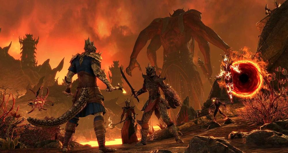 The Elder Scrolls Online Flames of Ambition screenshot