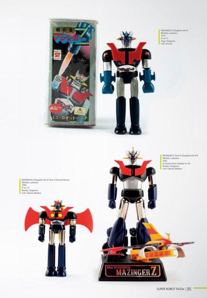 Super Robot Files 1, Mazinger Z