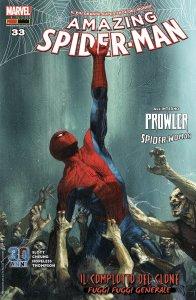 Amazing Spider-MAn 33, copertina di Gabriele Dell'Otto