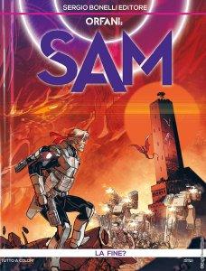 Orfani - Sam 11: La fine?, copertina di Carmine Di Giandomenico