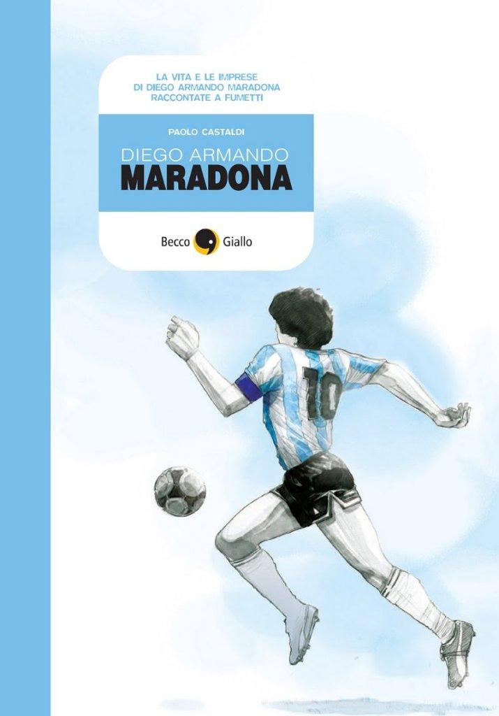Maradona, copertina di Paolo Castaldi