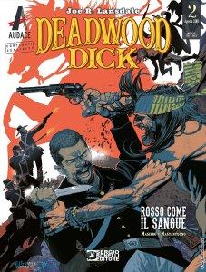 Deadwood Dick 2: Rosso come il sangue., copertina di Corrado Mastantuono