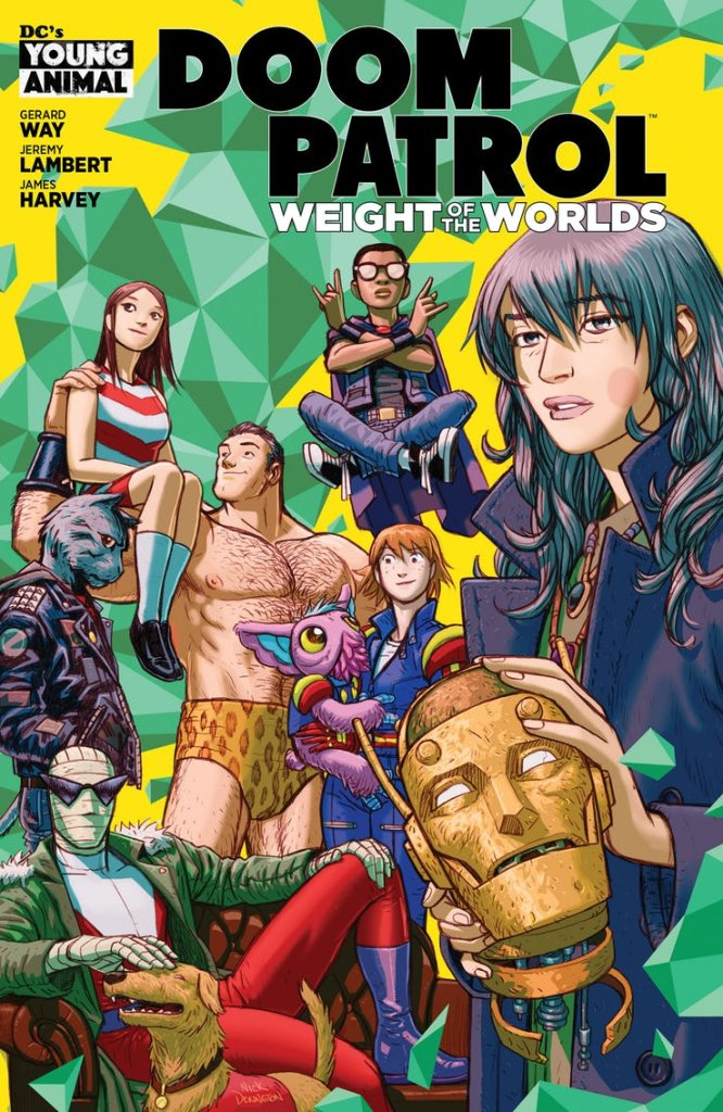 Doom Patrol Weight of the World #1, copertina di Nick Derington