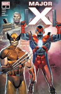Major X #2, copertina di Rob Liefeld