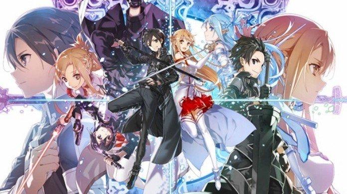 Sword Art Online, illustrazione di abec