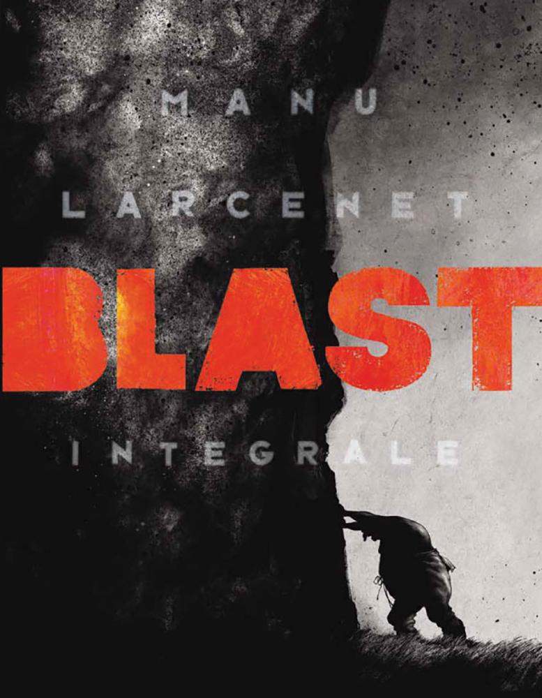 Blast - Integrale, copertina di Manu Lacernet