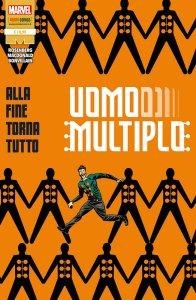 Uomo Multiplo: Alla fine torna tutto, copertina di Marcos Martin