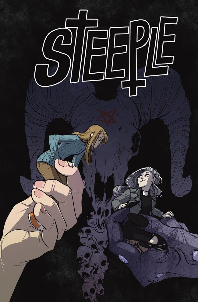 Steeple #1, variant cover di Max Sarin