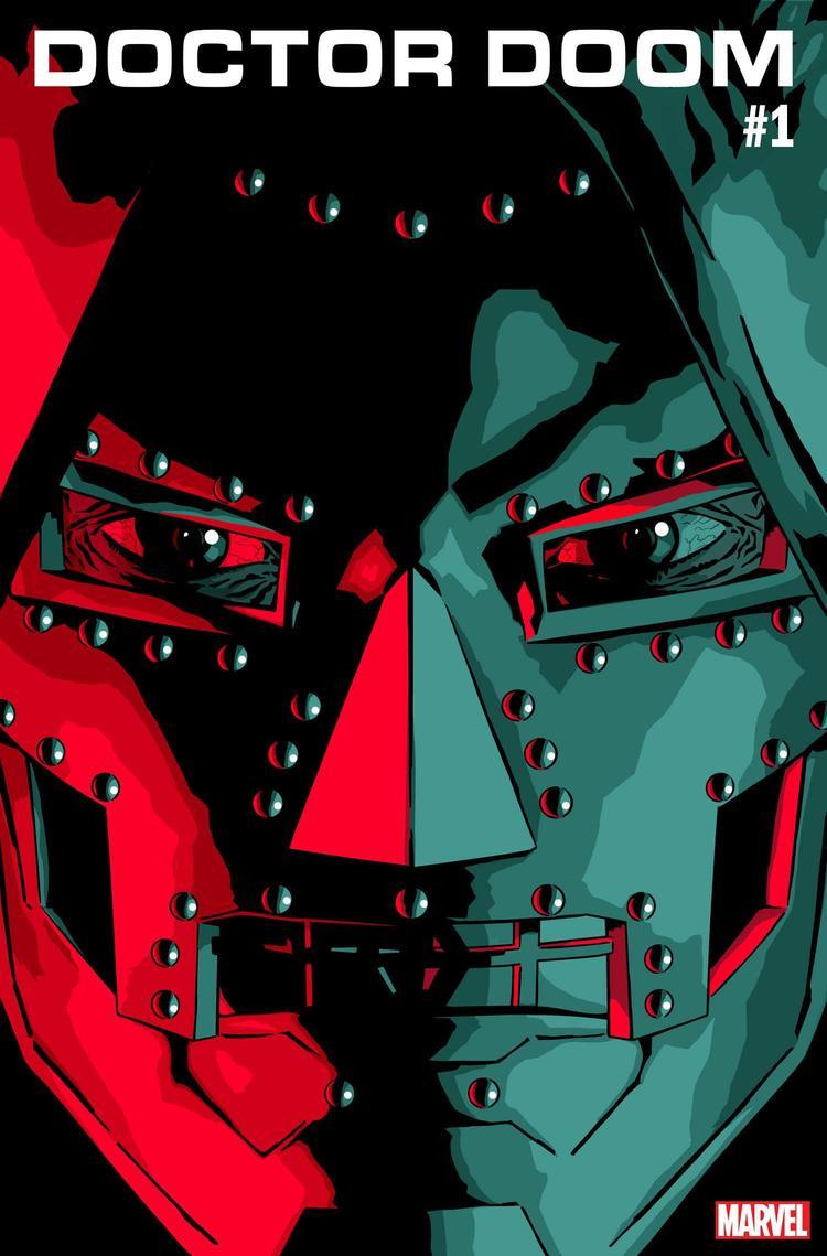 Doctor Doom #1, copertina di Salvador Larroca