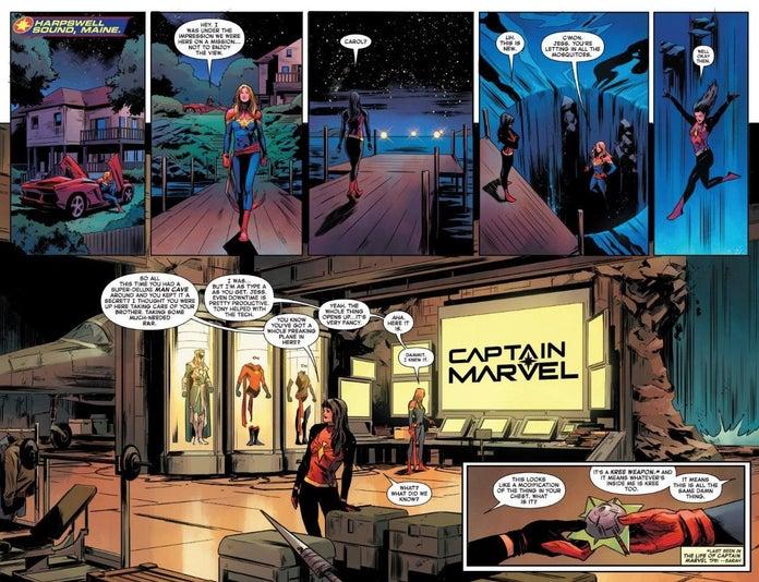 Captain Marvel #9, anteprima 01