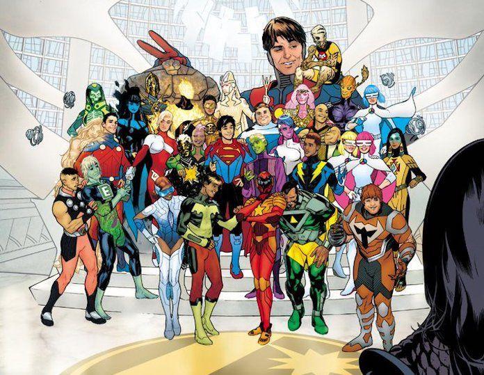 Legion of Super-Heroes, teaser di Ryan Sook