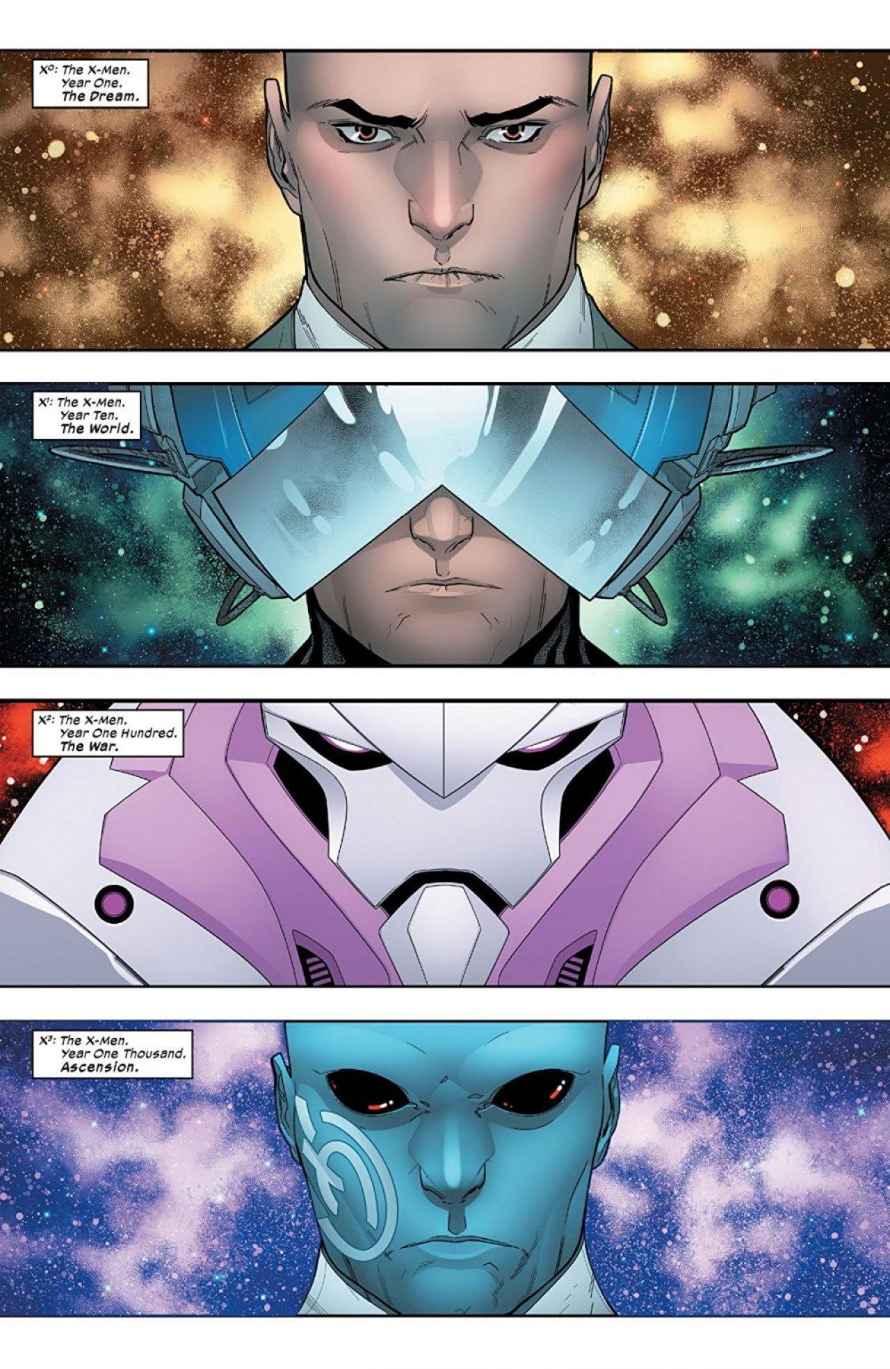 Powers of X #1, anteprima 01