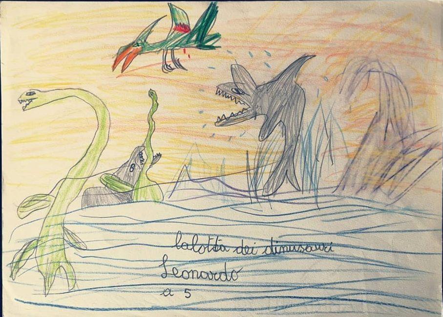 Leo Ortolani dinosauri