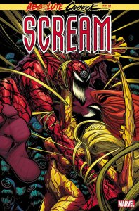 Absolute Carnage: Scream #3, copertina di Gerardo Sandoval