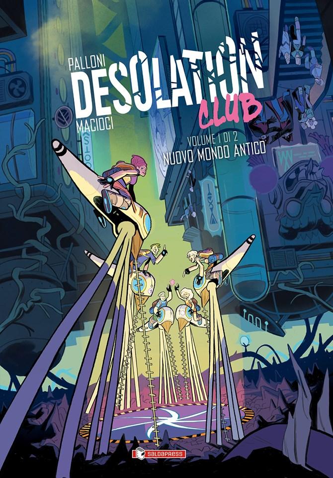 Desolation Club vol. 1: Nuovo mondo antico, copertina