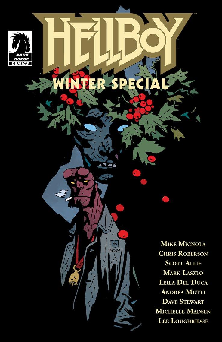 Hellboy Winter Special, copertina di Mike Mignola
