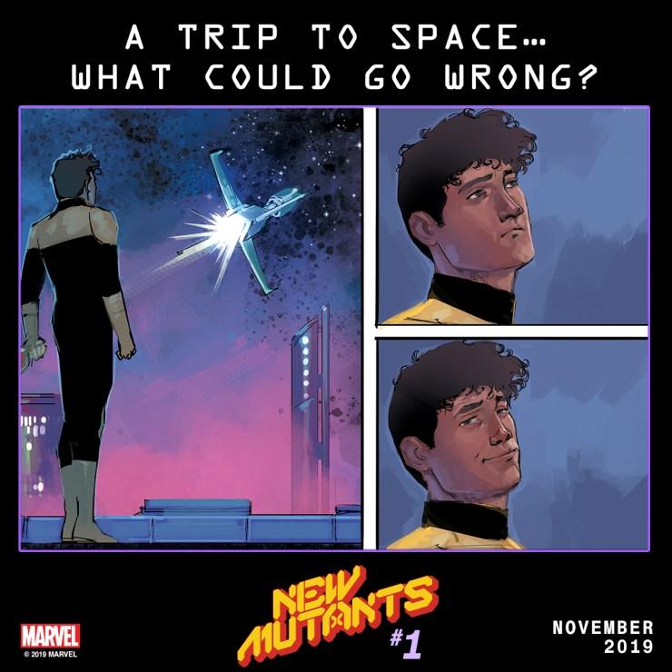 New Mutants #1 Teaser