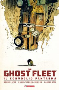 Ghost Fleet, copertina di Daniel Warren Johnson