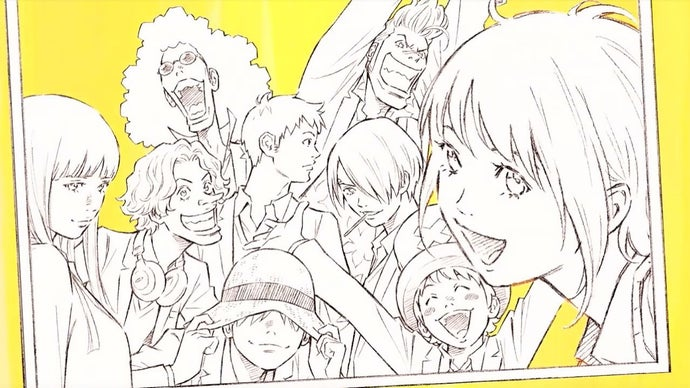 One Piece, illustrazione di Eisaku Kubonouchi