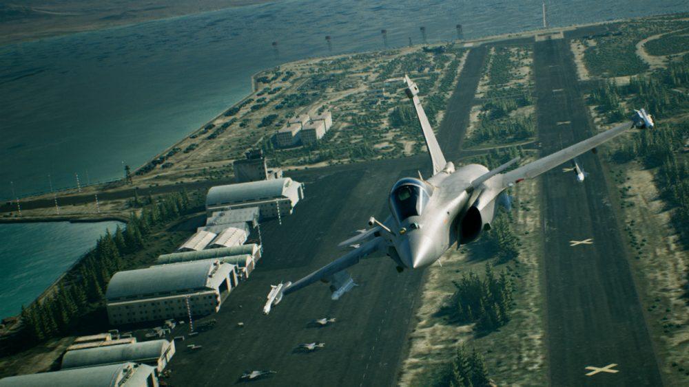 Ace Combat 7: Skies Unknown banner scheda