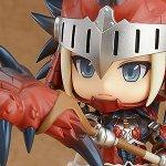 Monster Hunter, disponibile per la prenotazione la Nendoroid della cacciatrice in armatura Rathalos