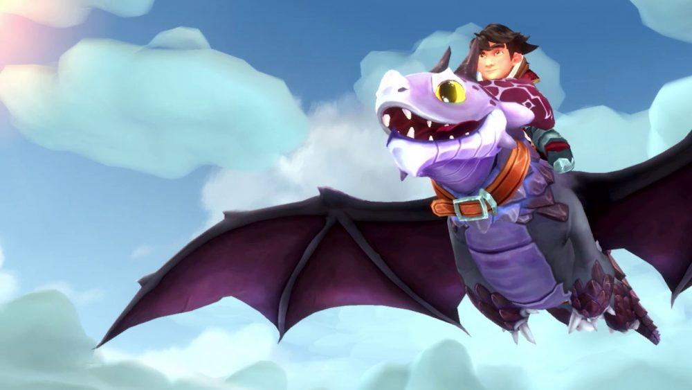 Dragons: L'Alba dei Nuovi Cavalieri banner scheda