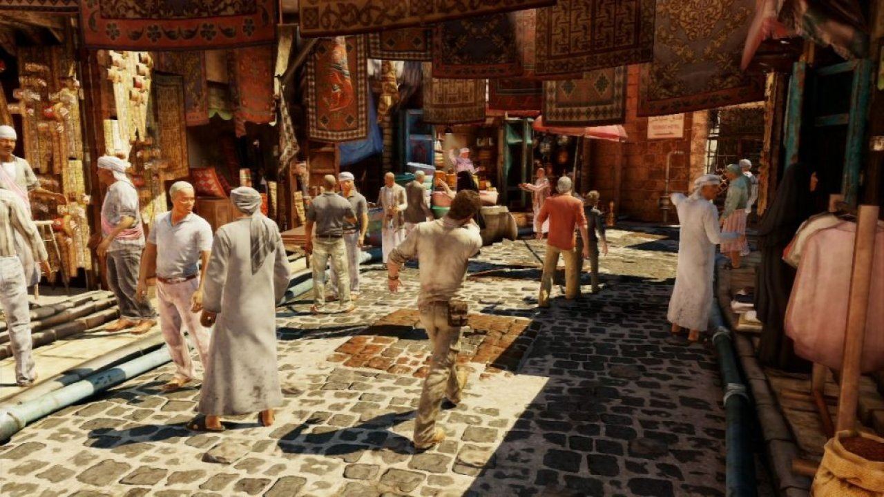 Uncharted 3: L'inganno di Drake screenshot