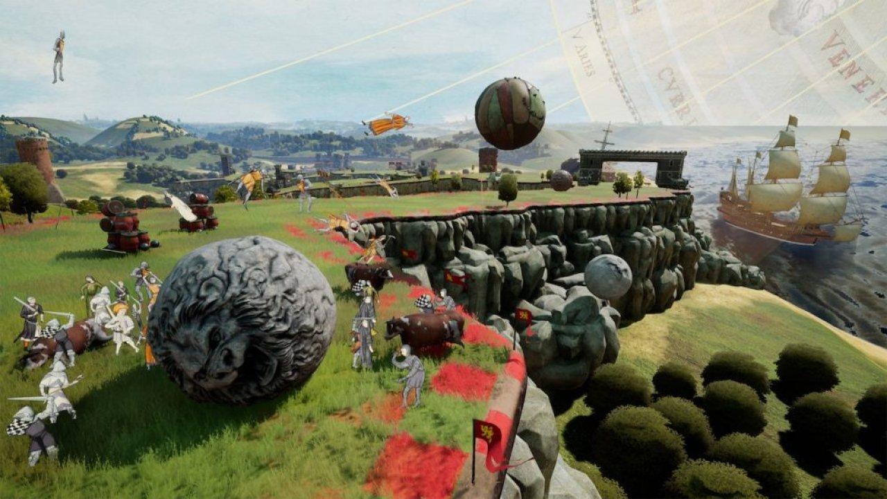 Rock of Ages II: Bigger & Boulder screenshot