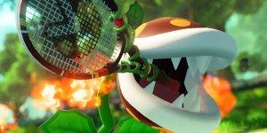 Mario Tennis Aces, il trailer della Pianta Piranha falò