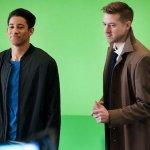 Legends of Tomorrow: online diverse foto backstage della terza stagione