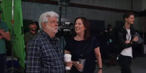 The Mandalorian: George Lucas appare nel video del backstage del primo episodio!