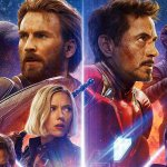 Avengers: Infinity War, Thanos e i supereroi Marvel in un nuovo poster IMAX