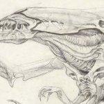 James Cameron: ecco alcuni disegni del regista realizzati per Aliens e Terminator 2