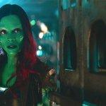 Avengers: Infinity War, Zoe Saldana commenta una scena chiave e parla del rapporto con Star-Lord