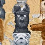 L'Isola dei Cani: tutti i protagonisti del film di Wes Anderson ritratti nei nuovi character poster