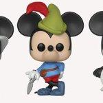 Mickey Mouse: ecco le nuove figure Funko POP! realizzate per il 90° anniversario di Topolino
