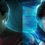 Ezra Miller e Tom Holland a ruoli invertiti tra Spider-Man e Flash in una suggestiva fan art