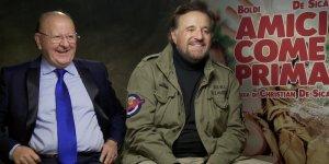 EXCL – Amici Come Prima: Massimo Boldi e Christian De Sica di nuovo insieme | INTERVISTA
