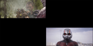 Avengers: Infinity War, lo SNAP! di Thanos sincronizzato con Ant-Man and the Wasp in un video