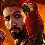 Aladdin: il Genio, Jafar e gli altri protagonisti nei character poster del film Disney