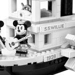 Disney: in arrivo il set LEGO ispirato a Steamboat Willie