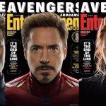 Avengers: Endgame, i 6 primi Vendicatori in copertina su Entertainment Weekly