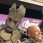 Avengers: Endgame, ecco Vin Diesel vestito come Groot alla World Premiere del film