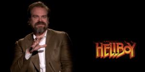 Hellboy: David Harbour parla dei suoi fumetti preferiti e della scena più difficile da girare