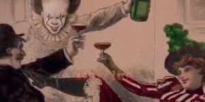 Pennywise invade la sigla d'apertura di Cin Cin in un suggestivo video