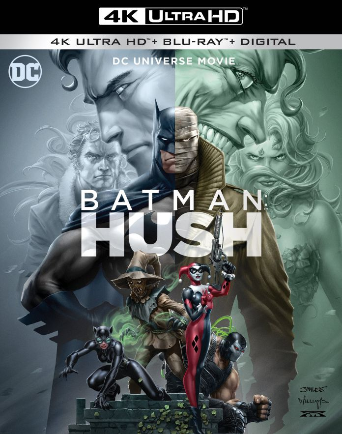 Batman: Hush, copertina di Jim Lee
