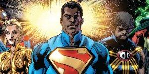black superman nero