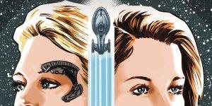 Star Trek: Voyager - Seven's Reckoning #1, copertina di Angel Hernandez