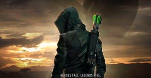 Arrow Stagione Finale The CW Stephen Amell poster