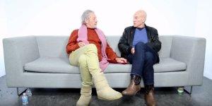 Patrick Stewart Ian McKellen
